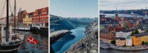Aprender un idioma menos popular en países escandinavos
